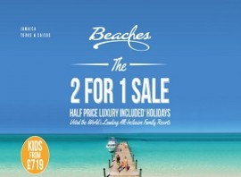 Beaches Negril from only £1750 pp 7 Nights All Inclusive