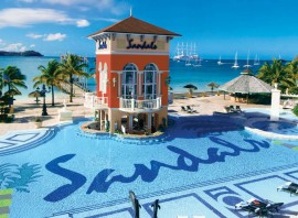 Sandals Grande St Lucian from £1569 pp 7 nights All Inclusive