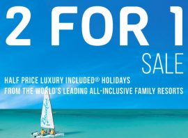 Sandals and Beaches  2 for 1 Sale